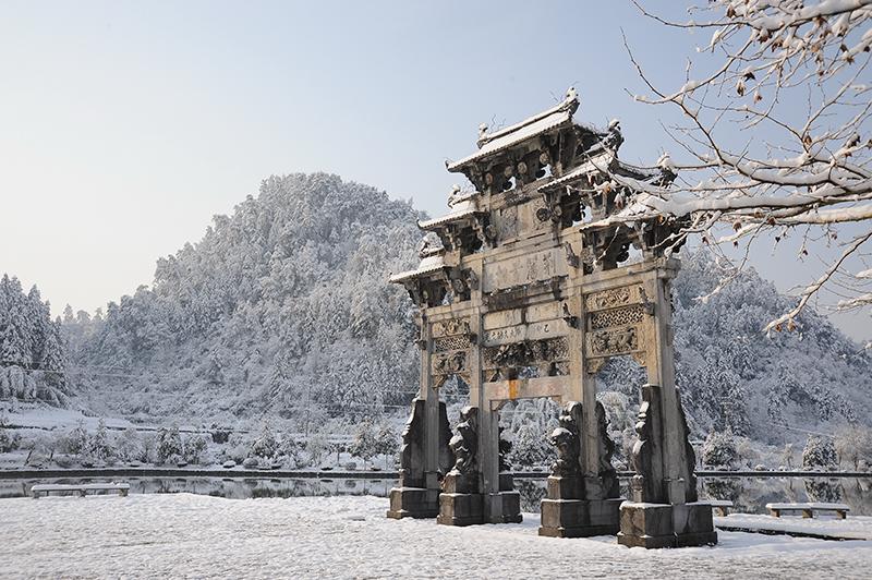 冬日•西递恋曲